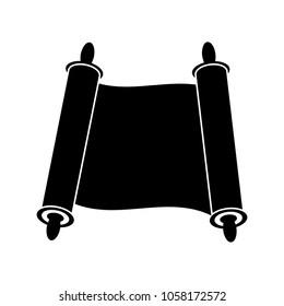 Jewish torah icon