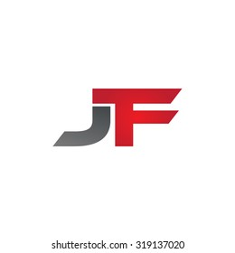 JF company group linked letter logo