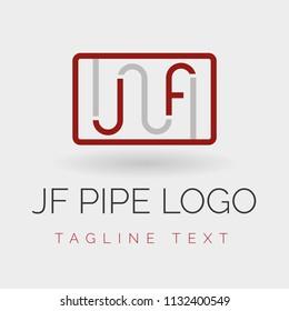 JF initial Plumber Logo