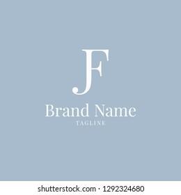 JF logo elegance skyblue