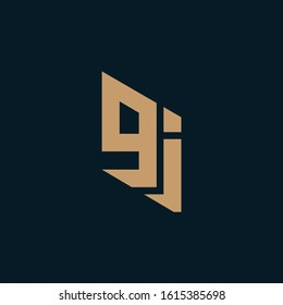JG or GJ logo and icon designs