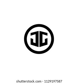 jg letter vector logo