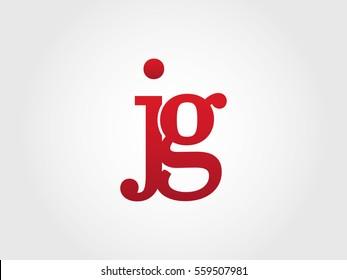 jg lowercase logotype