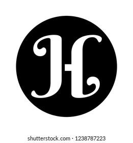 JH initial monograph logo