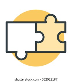 Jigsaw Puzzle Vector Icon