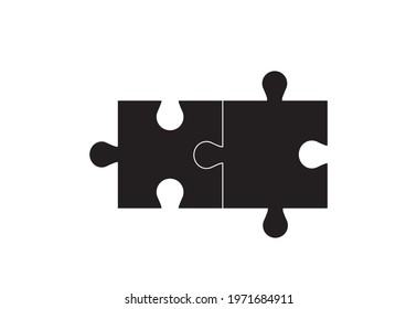 Jigsaw puzzles connect the dots , others white background