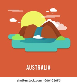 Jim Jim Falls beautiful waterfall national heritage Australia