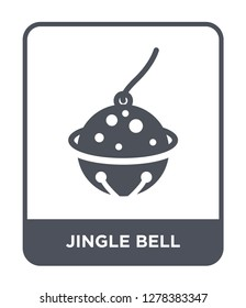 jingle bell icon vector on white background, jingle bell trendy filled icons from Christmas collection, jingle bell vector illustration