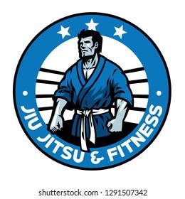 jiujitsu badge design