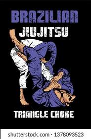 jiujitsu triangle move