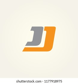 JJ logo vector, icon JJ, CJ logo vector, icon CJ, alphabet logo vector