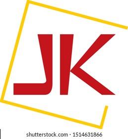 jk j k logo letter