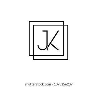 JK ,KJ company linked letter logo