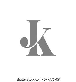 jk letter vector