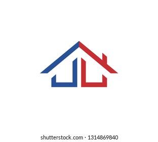 JL Home Symbol Simple Vector