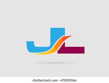 JL letter logo