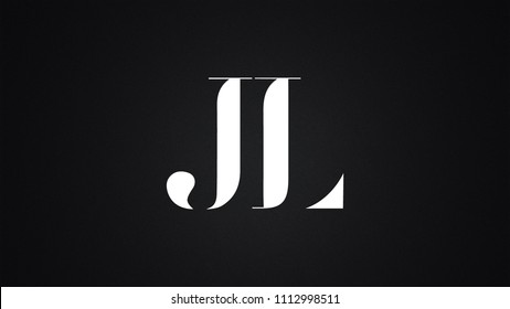 JL Letter Logo Design Template Vector