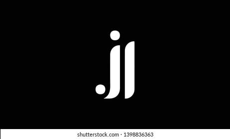 JL logo design template vector illustration
