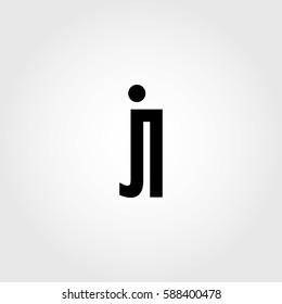 jl lowercase logo black interrelated