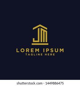 JM letters Initial / Monogram icons. - Vector inspiration logo design - Vector