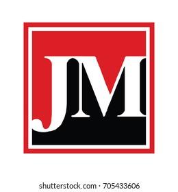 jm logo.capslock jm logo, red and black transparent logo, luxury logo