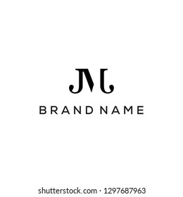 JM monogram logo design