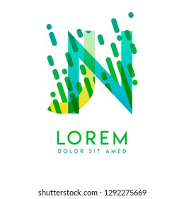 JN logo with the theme of galaxy speed and style that is suitable for creative and business industries. NJ Letter Logo design for all webpage media and mobile, simple, modern and colorful