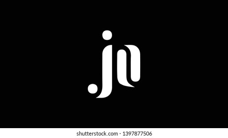 JO logo design template vector illustration