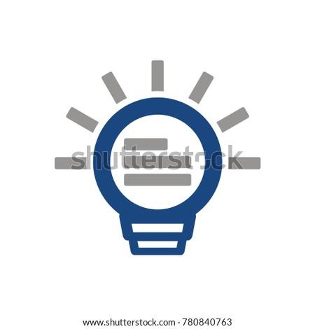Job Idea Application Cv Logo Resume Stock Vector Royalty Free