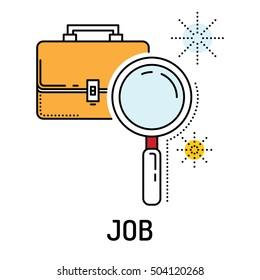 Job Line Icon