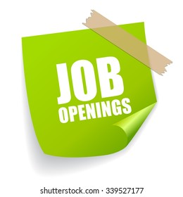 Job openings sticker