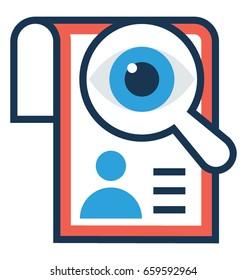 Job Vector Icon
