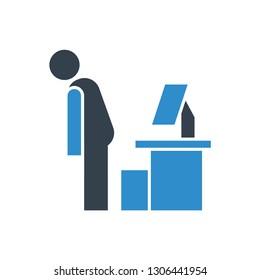 jobless man icon
