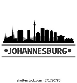 Johannesburg skyline images stock photos vectors shutterstock johannesburg skyline silhouette city design vector art thecheapjerseys Image collections