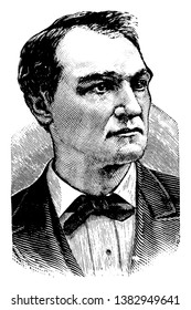John Griffin Carlisle, 1834-1910, he was an American politician, the speaker of the U.S. house of representatives from 1883 to 1889, and secretary of the Treasury from 1893 to 1897, vintage