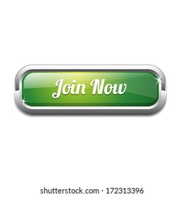 Join Now Rounded Rectangular Button