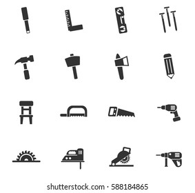 joinery web icons for user interface design