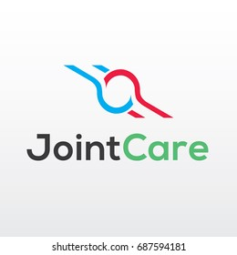 Joint Care Logo Template