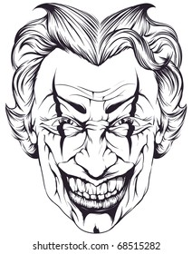 Joker Drawing High Res Stock Images Shutterstock