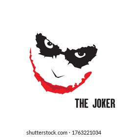 joker angry art design vector