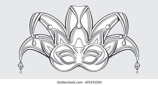 Joker stock images royalty free images vectors for Joker mask template