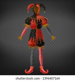 Venetian Mask Jester Harlequin Costume Checkered Masquerade Black White Prom New