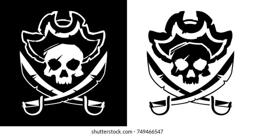 Jolly Roger vector illustration