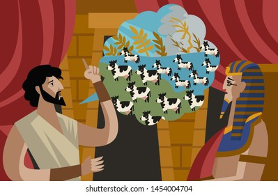 joseph interpretation of pharaoh dreams old testament tale