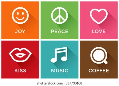 Peace Love And Happiness Images, Stock Photos & Vectors ...