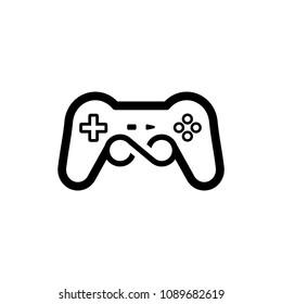 joypad icon logo vector