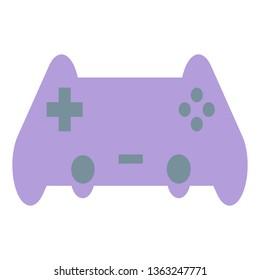 Joystick, Controller, Computer Component, Game console Icon - Vector