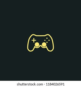 Joystick isolated icon. gamepad vector icon. Can be used for web and mobile.