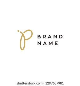 JP monogram logo design