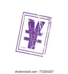 JP Yen Stamp